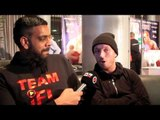 SCOTTY CARDLE TALKS TO KUGAN CASSIUS ABOUT FIGHT AGAINST SZOT ON FROCH v GROVES BILL