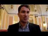 EDDIE HEARN TELLS iFL TV  'AT HEART IM A BIG BOXING FAN & I WANT TO SEE EVEN FIGHTS' / RELOADED