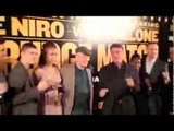 ROBERT DeNIRO & SYLVESTER STALLONE - WITH JOSHUA, BROOK, GROVES, ADAMS, JONAS, BARKER & CAMPBELL.