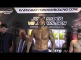 WADI CAMACHO v TONI VISIC - OFFICIAL WEIGH IN / PRIZEFIGHTER WELTERWEIGHTS IV