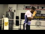 ANTHONY JOSHUA MBE TRAINING FOOTAGE - PART 1 (SHADOW BOXING) / JOSHUA v SKELTON / iFL TV