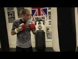 RICKY BURNS & TONY SIMS TRAINING FOOTAGE (THE HEAVYBAG) / BURNS v ZLATICANIN / iFL TV