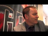 DENNIS HOBSON -'THIS IS ISN'T A CELEBRITY FIGHT, THIS IS A REAL TRADE FIGHT' / HALL v BUTLER