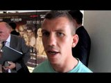 GARY BUCKLAND - 'IM NOT FIGHTING HIS RECORD IM FIGHTING HIM, HE'S GOING TO KNOW IM THERE'