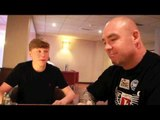 SONNY DONNELLY INTERVIEWS LUCAS 'BIG DADDY' BROWNE AHEAD OF RUDENKO FIGHT IN WOLVERHAMPTON.