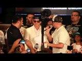 MARCOS 'CHINO' MAIDANA GRAND ARRIVAL @ MGM GRAND / MAYWEATHER v MAIDANA 2 / MAYHEM
