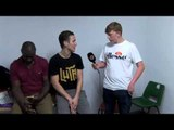 POST FIGHT INTERVIEW GEORGIE KEAN & GARY LOGAN BY SONNY DONNELLY FOR iFL TV