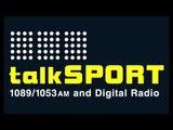 BILLY JOE SAUNDERS BETS CHRIS EUBANK JR. £100K  LIVE ON TALKSPORT - THE ALAN BRAZIL SPORTS BREAKFAST