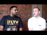 GEORGE GROVES (WITH KUGAN CASSIUS) ON DOUGLIN FIGHT ON NOV 22, DeGALE, FROCH & VACATING EBU TITLE