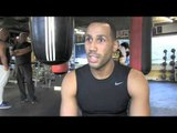 JAMES DeGALE - 'HE (GROVES) HAS BEEN KNOCKED OUT TWICE BY FROCH & STILL CALLS HIM OUT. ITS CRAZY'