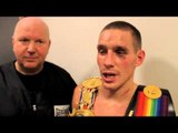 POST FIGHT LIAM WALSH WINS BRITISH TITLE WITH EMPHATIC VICTORY OVER GARY SYKES / WALSH v SYKES