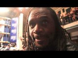 AUDLEY HARRISON - 'I WANT TO FIGHT ANTHONY JOSHUA OR DERECK CHISORA' / INTERVIEW FOR IFL TV