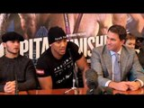 ANTHONY JOSHUA v KEVIN JOHNSON FULL PRESS CONFERENCE WITH UNDERCARD & EDDIE HEARN