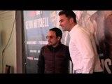 JUAN MANUEL MARQUEZ & EDDIE HEARN TOGETHER AT O2 PRESS CONFERENCE / IFL TV