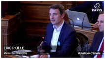 Justice4climate - Intervention d'Eric Piolle, Maire de Grenoble