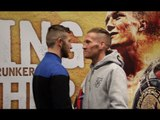 ISAAC LOWE v JAMIE SPEIGHT - HEAD TO HEAD @ FINAL PRESS CONFERENCE / MARCHING ON TOGETHER