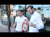 ANDY LEE v BILLY JOE SAUNDERS - SIDE BY SIDE / PHOTO CALL AHEAD OF WBO WORLD TITLE CLASH