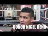 CONOR BENN ON WHY HIM & HIS FATHER NIGEL WILL TAKE THE OPPOSITE BOXING APPROACH TO THE EUBANKS.