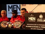 WLADIMIR KLITSCHKO RESPONDS TO QUESTION ABOUT MANUEL STEWARD SAYING 'FURY WILL BE NEXT GREAT FORCE'