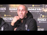 JAMES DeGALE v LUCIAN BUTE - POST FIGHT PRESS CONFERENCE WITH EDDIE HEARN /JAMES DeGALE/ BUTE