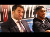EDDIE HEARN SAYS INITIAL PPV NUMBERS FOR JOSHUA v WHYTE HAVE 'BLOWN HIS MIND' / BAD INTENTIONS