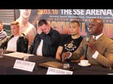 FROM THE HEART - CHRIS EUBANK EMOTIONAL OUTBURST ON BEING ACCUSSED OF STEALING EUBANK JR'S LIMELIGHT