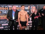 RICKY BOYLAN v LUKASZ JANIK  - OFFICIAL WEIGH IN & HEAD TO HEAD / BLACKWELL v EUBANK JR