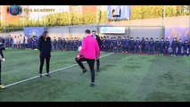 Pauleta inaugure la Paris Saint-Germain Academy Turquie !