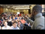 'YOU ARE ALL BUMS!' - OHARA DAVIES BACK IN LIVERPOOL - ADDRESSES FULL SCOUSE CROWD BEFORE PRESSER