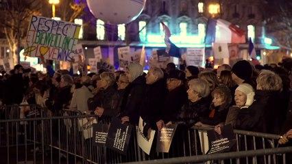 Rassemblement contre l'antisémitisme