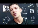 LUKE CAMPBELL - 'I WILL DO WHAT I DO. HE HAS TWO ARMS. TWO LEGS. JORGE LINARES IS NO MACHINE'
