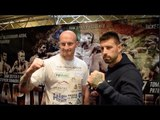 HEAVYWEIGHT BRITISH TITLE CLASH! - GARY CORNISH v SAM SEXTON OFFICIAL HEAD TO HEAD