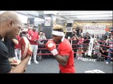 JERMALL CHARLO OFFICIAL MEDIA WORKOUT (FULL & COMPLETE) FROM NEW YORK CITY / CHARLO v LUBIN