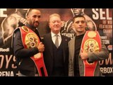 'UNCLE FRANK IS BACK!' - JAMES DeGALE WITH FRANK WARREN & LEE SELBY / THE BOYS ARE BACK IN TOWN