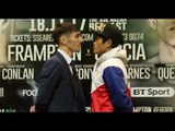 WORLD TITLE ON THE LINE! - JAMIE CONLAN v JERWIN ANCAJAS - HEAD TO HEAD @ FINAL PRESS CONFERENCE