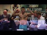 UP THE JOYCE! DAVID OLIVER JOYCE & MTK PROSPECT GARY CULLY WEIGH IN RESPECTIVLY IN BELFAST