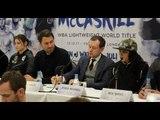 KATIE TAYLOR v JESSICA McCASKILL / BALL-SHINKWIN / BENN / OKOLIE - PRESS CONFERENCE (W/ EDDIE HEARN)