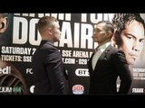 CARL FRAMPTON v NONITO DONAIRE - OFFICIAL HEAD TO HEAD FROM BELFAST / FRAMPTON v DONAIRE