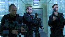 Resident Evil - Scène des lasers