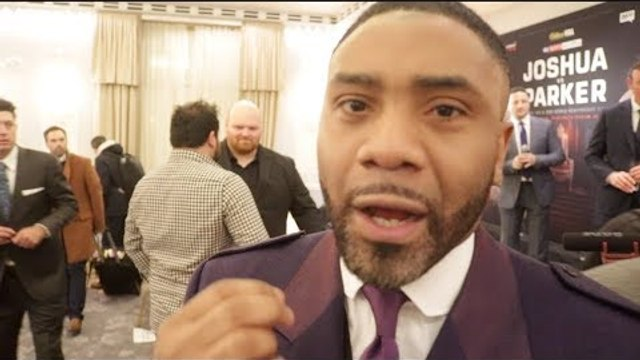 'I SEE ANTHONY JOSHUA STOPPING JOSEPH PARKER LATE ON - JOSHUA ALWAYS FINDS A WAY' - SPENCER FEARON