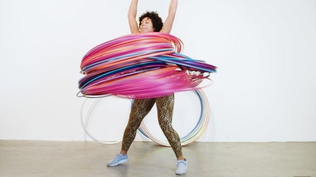 Why It's Almost Impossible to Spin 300 Hula Hoops At Once