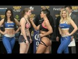 ALICIA NAPOLEON WEIGHS IN WITH AN EYE-CATCHING ATTIRE AHEAD OF CLASH WITH FEMKE HERMANS