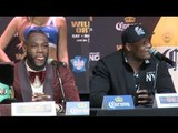 DEONTAY WILDER v LUIS ORTIZ - FINAL NEW YORK PRESS CONFERENCE / WILDER-ORTIZ