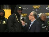 DEONTAY WILDER - 'I WANNA RIP LUIS ORTIZ HEAD OFF, I DO MEAN REALLY PUT HIM DOWN!'  / WILDER v ORTIZ