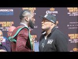 INTENSE!! -DEONTAY WILDER v LUIS 'KING KONG' ORTIZ - OFFICIAL HEAD TO HEAD NEW YORK / WILDER v ORTIZ