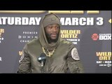 DEONTAY WILDER v LUIS 'KING KONG' ORTIZ (COMPLETE) POST FIGHT PRESS CONFERENCE - WILDER v ORTIZ
