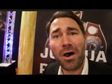'I FEEL SORRY FOR YOU' - EDDIE HEARN GOES IN MOCKS DEONTAY WILDER, OPEN TO BOTH WHYTE/JOSHUA OFFERS