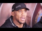 ANTHONY JOSHUA IMMEDIATE REACTION TO WIN OVER JOSEPH PARKER TO CAPTURE WBO HEAVYWEIGHT CROWN