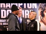 IT IS TETE TIME AGAIN?  - ZOLANI TETE v OMAR ANDRES NARVAEZ - HEAD TO HEAD @ FINAL PRESS CONFERENCE