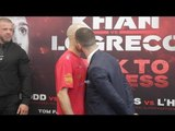 KISS HIM LAD! - SEAN 'MASHER' DODD v TOMMY COYLE - OFFICIAL HEAD TO HEAD / KHAN v LO GRECO